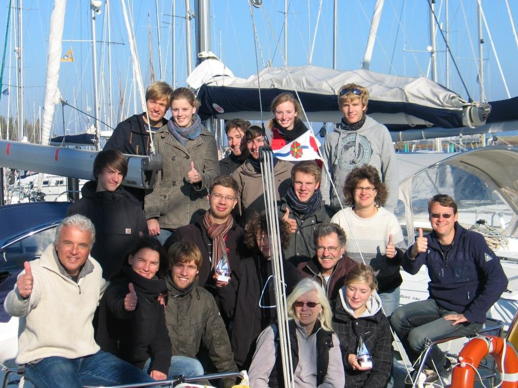 Die Teilnehmer an den Nautic Young Stars vom SCLi. Foto: privat.