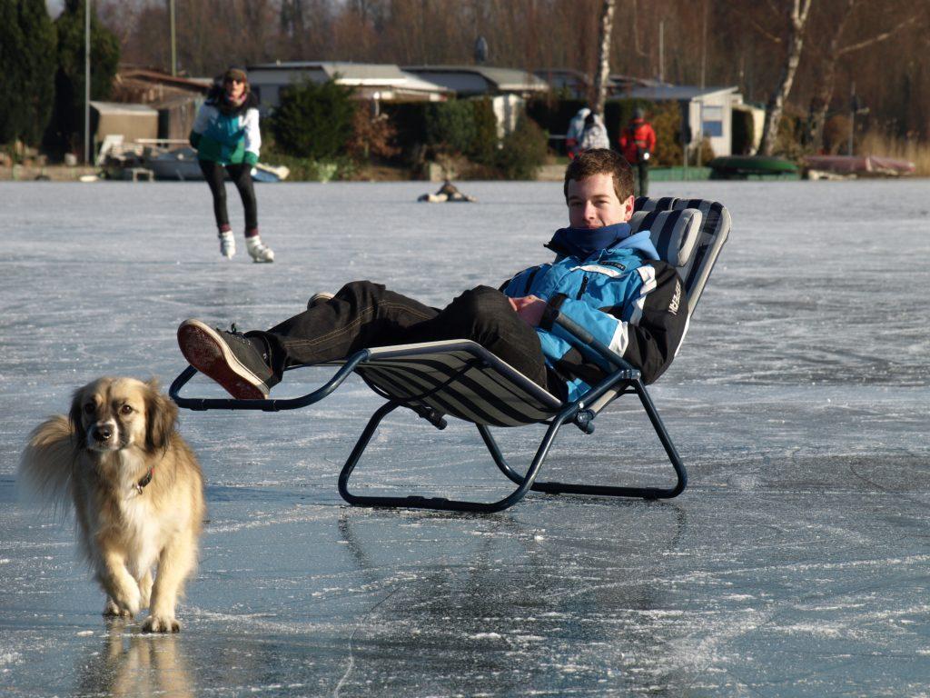 Nils auf dem Eis
